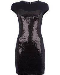 Twentycluny Sequin Detail Dress - Lyst
