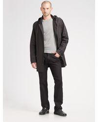 Calvin Klein Black Straight-leg Jeans - Lyst