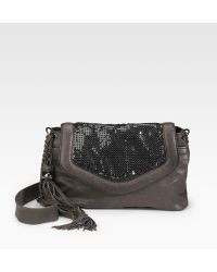 Nanette Lepore Chain Mesh Shoulder Bag - Lyst