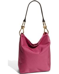 JPK Paris Nylon Bucket Bag with Chunky Hardware - Lyst