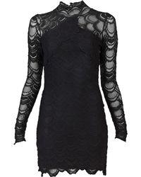 Nightcap Open Back Lace Dress - Lyst