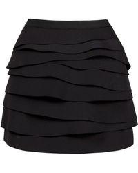 Lublu Multi-layer Mini Skirt - Lyst
