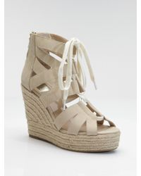 Dolce Vita Jianna Lace-up Suede Ankle Boots - Lyst