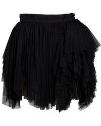 Lublu Mini Tulle Skirt - Lyst