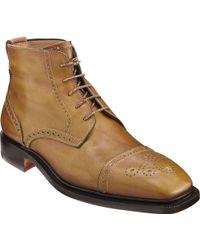 Bettanin & Venturi - Cap Toe Ankle Boot - Lyst