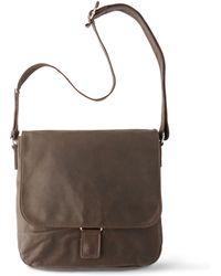 Jost Medium Mono Messenger Bag - Brown