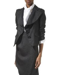 Vivienne Westwood Anglomania Fitted Jacket - Lyst