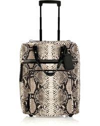 Lanvin - Amalia Voyage Cotton-canvas Suitcase - Lyst