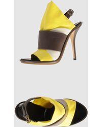 Balenciaga High-heeled Sandals - Lyst