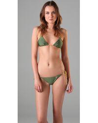 Insight - Leni Fawcett Triangle Bikini - Lyst