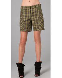 L.A.M.B. - Plaid Shorts - Lyst