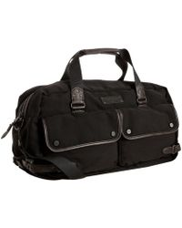Marc New York - Black Rivington Leather Trim Duffel - Lyst