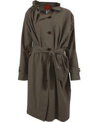 Vivienne Westwood Red Label - Nylon Ruffle Collar Coat - Lyst