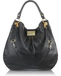 Marc By Marc Jacobs Classic Q Hillier Hobo black - Lyst