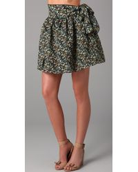 Karen Zambos - Bow Skirt - Lyst