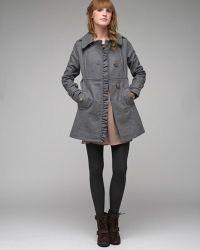 Tulle - Asymmetrical Ruffle Coat - Lyst