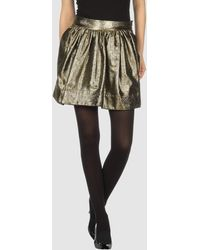 See By Chloé Mini Skirt - Lyst