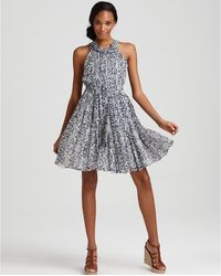 French Connection Flight Of Fancy Cap Sleeve Dress - Lyst