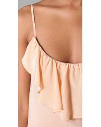 Sunner - Cambridge Flounce Maxi Dress - Lyst
