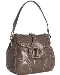 Prada Clay Calfskin Turnlock Flap Shoulder Bag - Lyst
