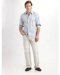 Robert Graham Tortugo Striped Sportshirt - Lyst