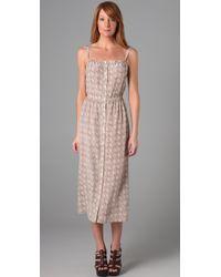 Sunner - Printed Oak Long Dress - Lyst