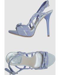 Dior Platform Sandals - Lyst