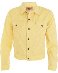 Opening Ceremony X Levi's Trucker Jacket - Yellow - Lyst