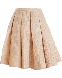 Rodarte x Opening Ceremony Deep Pleated Skirt - Lyst
