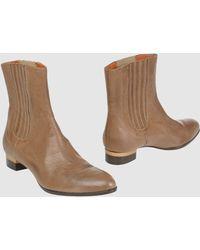 Duccio Del Duca Ankle Boots - Lyst