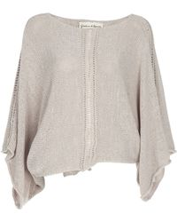 Graham & Spencer - Knitted Batwing Top - Lyst