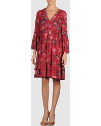 Odd Molly 3/4 Length Dress - Lyst