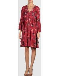 Odd Molly 3/4 Length Dress - Lyst