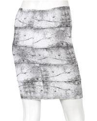 Pleasure Doing Business 5-band Skirt in Black/white - Lyst