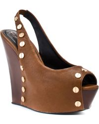 Rock & Republic Bette Wedge - Tan - Lyst