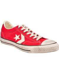 Converse Star Player Low Tops - Lyst