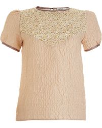 Rodarte x Opening Ceremony Stamped Shirt - Lyst
