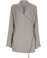 Lost & Found - Wrap-over Jacket - Lyst