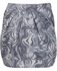 Alldressedup Pleat Skirt - Lyst