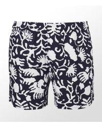 Ermenegildo Zegna - Floral Swim Shorts - Lyst