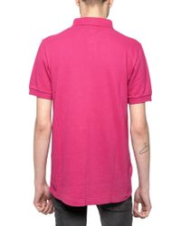 Fred Perry By Raf Simons Piquet Polo - Lyst