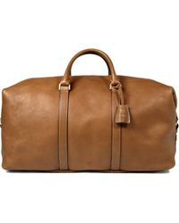 Mulberry Clipper Leather Holdall Bag - Lyst
