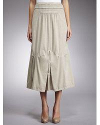 Sandwich - Jersey Maxi Skirt Sand - Lyst