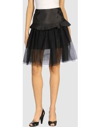Cynthia Rowley | 3/4 Length Skirt | Lyst