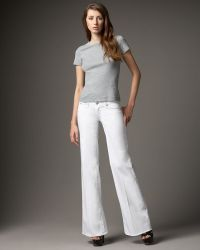 Rock & Republic - Kariana Wide-leg Twill Pants, White - Lyst