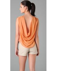 Maggie Ward - Revealed Drape Top - Lyst