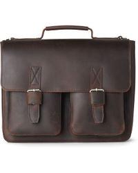 Leonhard Heyden - Salisbury Double Lock Briefcase - Lyst