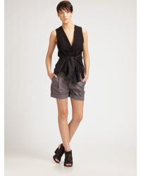 JNBY - Vest with Shirt Sleeves - Lyst