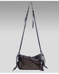 Olivia Harris - Leather Mini-crossbody Bag - Lyst