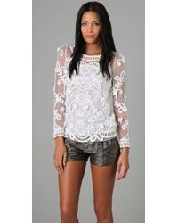 Alice By Temperley - Fabienne Lace Top - Lyst